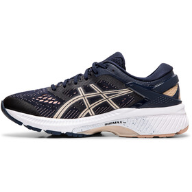 asics Gel-Kayano 26 Sko Damer, midnight/frosted almond